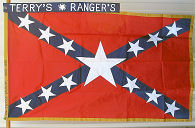 Second banner of the 8th Texas cavalry regiment
