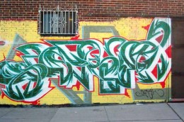 A standard work of art using Ghetto Graffiti Letters.