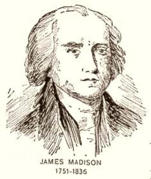 Engraving of James Madison