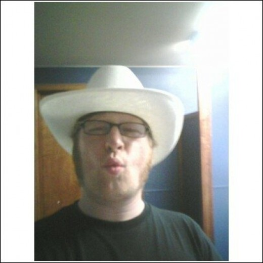 Me in a cowboy hat