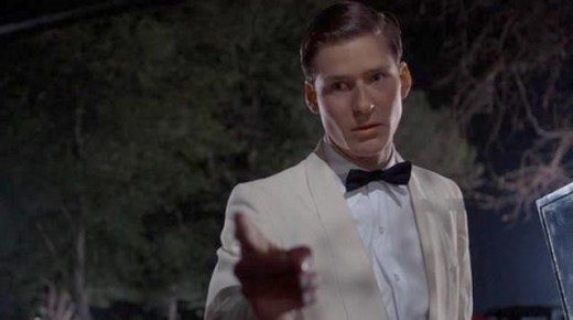 Crispin Glover as George McFly as the cashier