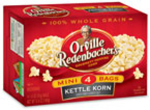 ORVILLE REDENBACHER MICROWAVE POPCORN.
