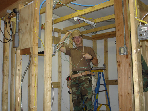 Being an electrician