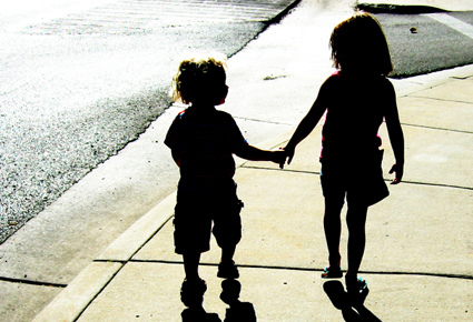 """Autistic children do not have to walk alone when """"we"""" reach out and offer our understanding."""