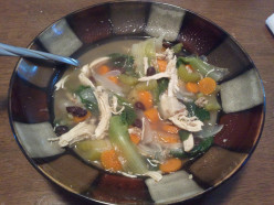 Flavor-Full Chicken Escarole Soup
