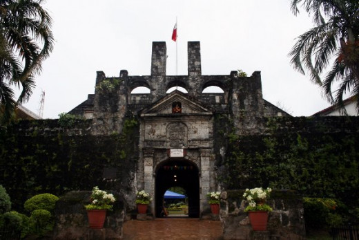 Entrance towards Fort San Pedro