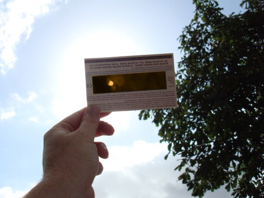 Solar Eclipse Viewer - safe for home viewing of a solar event.