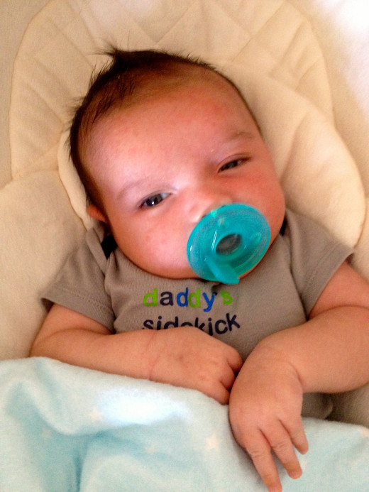 Torticollis, tightening of the neck muscles, causes baby to tilt his head to one side at an awkward angle.