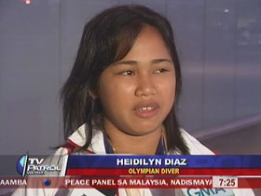 Hidilyn Diaz, 21, weightlifter, from Zamboanga City, Philippines