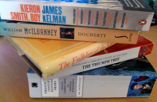 Scotland has a wide and varied body of literature to draw upon