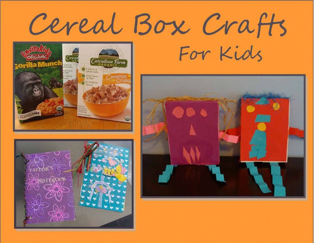 Creative Cereal Box Book Holder Design