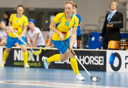 My friend now lives in Sweden an writes about floorball for a Swedish magazine.