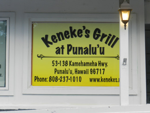 This little grill was both delicious, filling, and very inexpensive-especially for Hawaii.