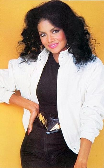 young Latoya Jackson