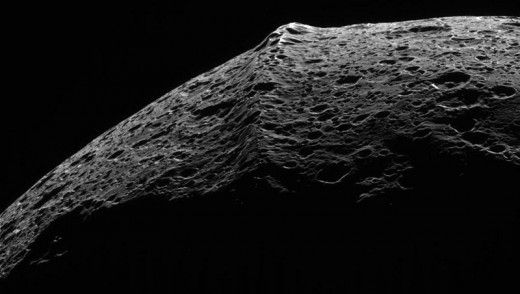 The equatorial ridge is yet another mystery found on the enigmatic moon that is Iapetus