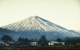 Cone-Shaped Volcano