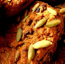Pumpkin seeds add a nutritious and tasty highlight for cookies, cakes and snack foods.