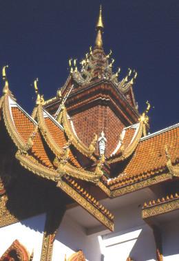 Bupparam Temple, Chiang Mai, Thailand