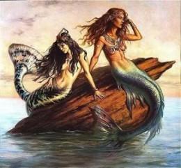 Mermaids Waited in the Sea