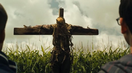 Nothing to be scared of here, right? It's just a scarecrow.