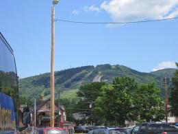 Mountains all around!