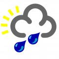 Weather and Rain -Snowflakes and Raindrops