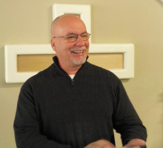 Pastor David Shipman author of the book Sufficient Grace