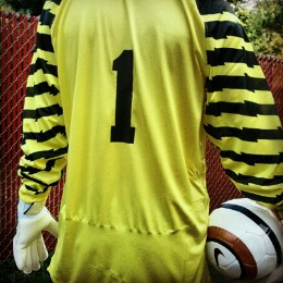 The goalkeeper position defies the rules of the game.