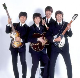 """Fab Four Mania based here in Las Vegas. Their show was """"narrated"""" by old clips from the Ed Sullivan show. They covered Beatles music from the beginning and through the decades."""