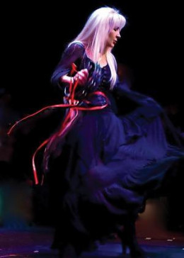 """Los Angeles based """"Bella Donna"""" ~A tribute to Stevie Nicks and Fleetwood Mac. Excellent show! The Stevie Nicks part played by Michelle Tyler was right on... she even nailed Stevie's mannerisms, and her voice was uncannily similar to Stevie Nicks!"""
