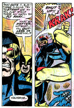 Cyclops Wasn't Having Any Of Wolverine's Attitude!
