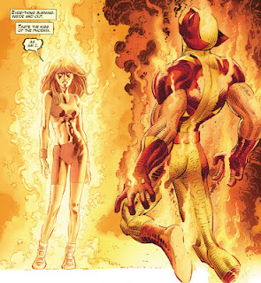 Different Person With The Phoenix Force, But Wolverine Still Gets Burned!