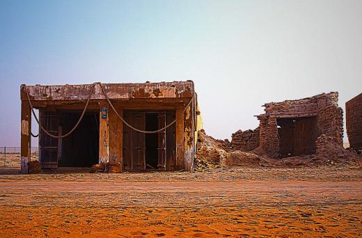 An abandoned house in Ras Al Khaimah
