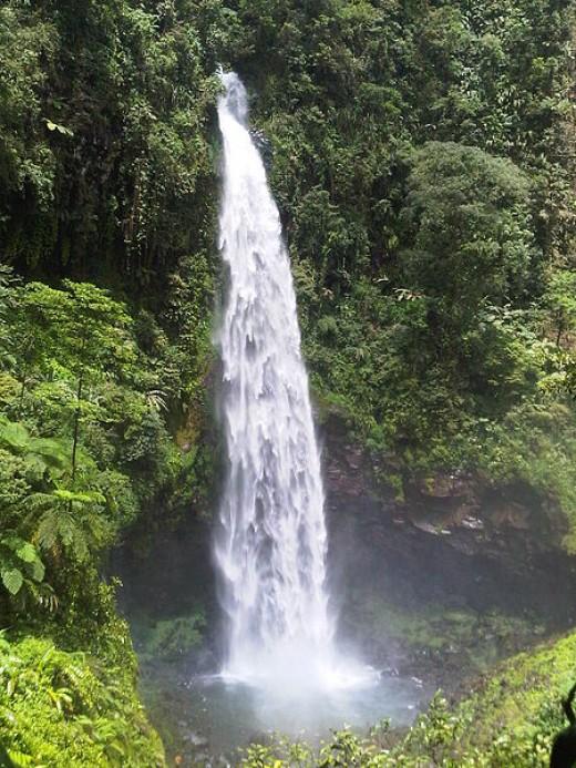 Cipendok waterfall