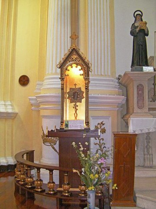 Relinquary of St Francis Xavier
