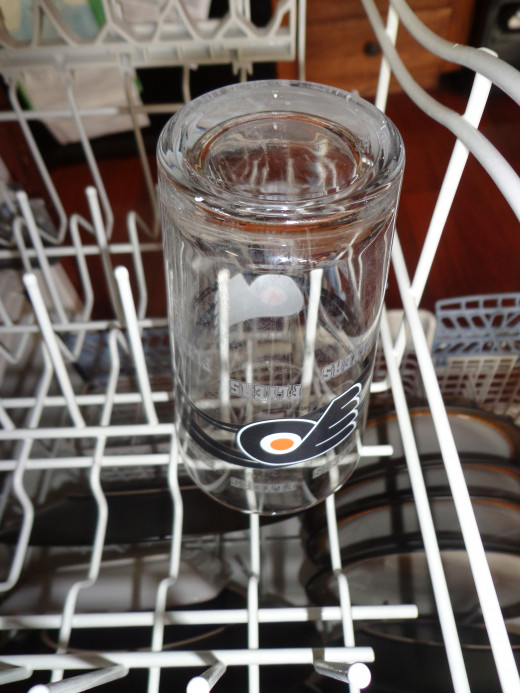 Glassware comes out clear when you have the right ratio of ingredients