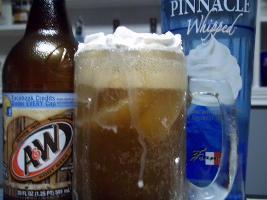 Whipped Vodka Rootbeer Float