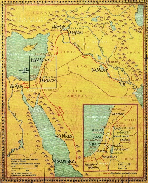 Middle East 4000 B.C.