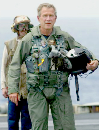 President Bush; Saving the world!
