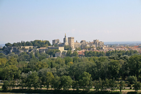 Avignon in the Distance