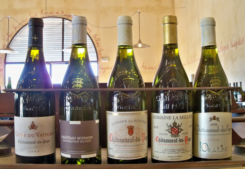 White Wines of Chateauneuf du Pape