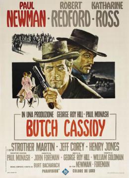 Butch Cassidy and the Sundance Kid (1969) Italian poster