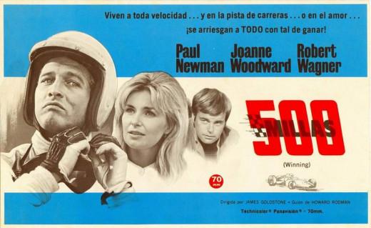 Winning (1969) Spanish poster