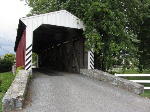 The Willow Hill Covered Bridge