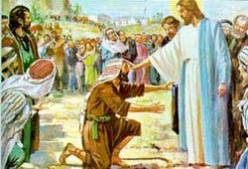 Bible Study Matthew 8:1-4 Jesus Healing the Leper