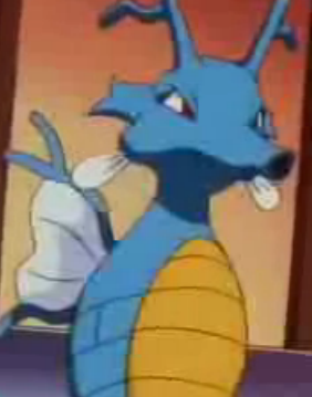 kingdra close up