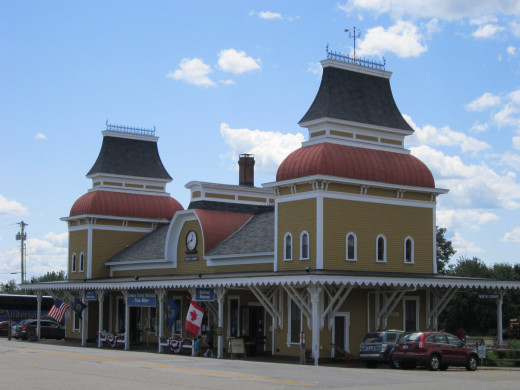 North Conway Scenic Railroad Train Station