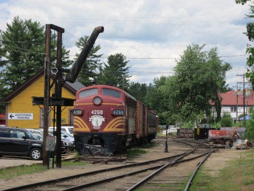 North Conway Train Exchange...