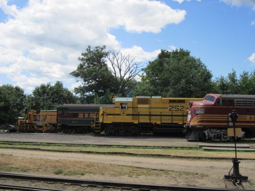 North Conway Scenic Railroad Engines
