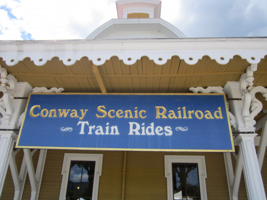 Take a Train Ride on the North Conway Scenic Railroad